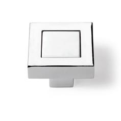 Arimini  Förkromad, högblank / vit